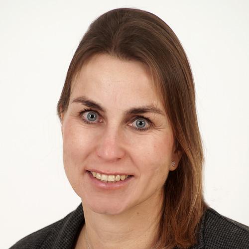Büroassistentin Christine Lüer